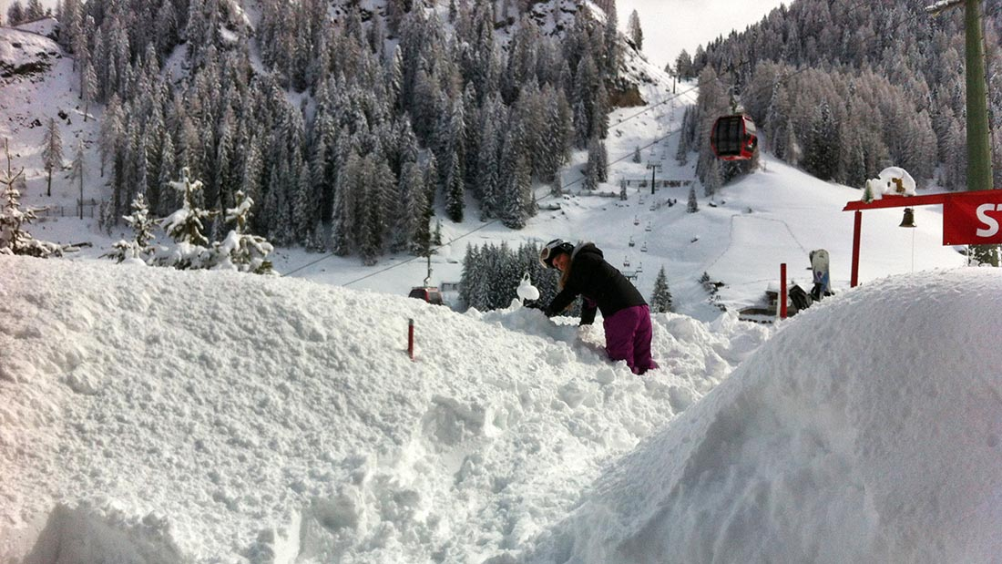 Winter in Selva Val Gardena